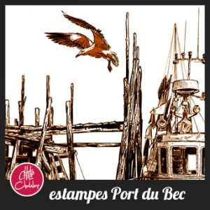 Estampes port du Bec